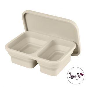 Siliconen lunchbox LittleJo EN 14372 groothandel bpa vrij baby veilig EN-71 old lace